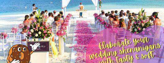 Elaborate Your Wedding Shenanigans With Tasty & Soft Shipley Donuts